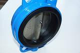Задвижка поворотная Баттерфляй диск нержавеющая сталь упл. EPDM Ду50 Ру16, фото 6