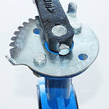 Задвижка поворотная Баттерфляй диск нержавеющая сталь упл. EPDM Ду80 Ру16, фото 7