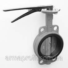 Задвижка поворотная Баттерфляй диск нержавеющая сталь упл. EPDM Ду125 Ру16