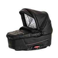 Детская коляска 2 в 1 Emmaljunga Super Nitro black leatherette
