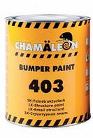 Краска для бампера Chameleon 403 черная 1л