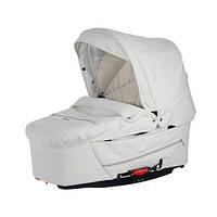 Детская коляска 2 в 1 Emmaljunga Super Nitro white leatherette