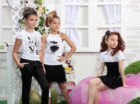 Блузы, рубашки, батники для девочек