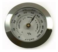Гигрометр 92106 (92004) металл серебристый, круглый, д=2.5 см