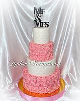 Топпер для торта  MR&MRS заготовка для декора