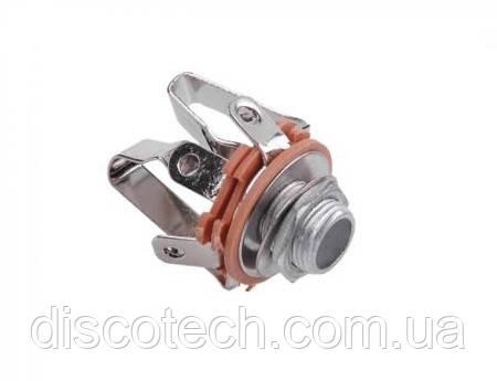 Гнездо GNI0040 Jack 6.3 mm, стерео, монтажное