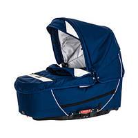 Детская коляска 2 в 1 Emmaljunga Super Nitro blue/white