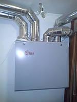 Приточно-вытяжная вентиляция с рекуперацией тепла SALDA в частном коттедже