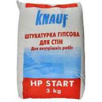 Шпаклевка Knauf НР гипсовая Start 3 кг