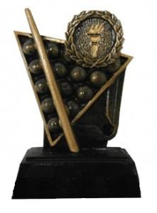 Статуэтка наградная Бильярд (11 см)