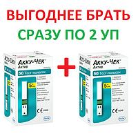 Тест-полоски Accu-Chek® Active 2х50 шт.