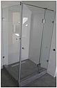 Угловая душевая кабина с распашной дверью на стекле, фото 10