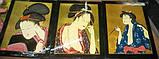 Картина, Японка, 40х30 см, Картины для декора, Японский стиль, Гейша,  Днепропетровск, фото 2
