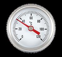 Термометр фронтальный 0`-120`C 42 мм хром  Evo