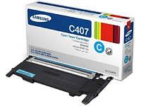Заправка картриджей Samsung  CLT-C407S  принтера Samsung CLP-310/N/315/W/CLX 3170FN/3175