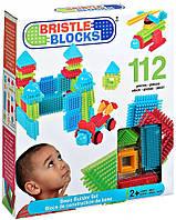 Конструктор-бристл - СТРОИТЕЛЬ (112 деталей, в коробке) Bristle Blocks