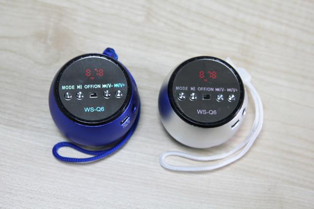 колонка, блютуз колонка, Bluetooth колонка, колонка WS-Q6