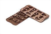 """Форма для шоколада """"Доброе утро"""" 39*24,5 мм h 13 мм Silikomart"""