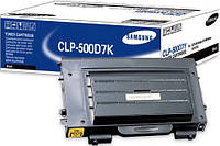 Заправка картриджей Samsung CLP-500D7K/ELS принтера Samsung CLP-500/500N/550/550N