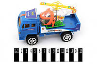 Машина грузовик инерционный