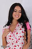 Комплект для беременных халат+ночная сорочка размер 50, фото 6