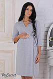 Набор для беременных и кормящих халат+ночная сорочка 44р, фото 2
