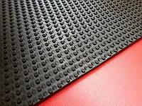 Резина набоечная листовая ТАНК (износостойкая) Украина 500*500*8 мм цвет черный