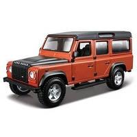Авто-конструктор Bburago - LAND ROVER DEFENDER 110 (коричневый металлик, 1:32)
