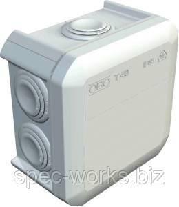 Коробка ОВО Т40 90х90х52