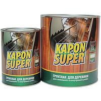 Лак грунтовочный KAPON SUPER ТМ Блеск  (0,8кг/2,4кг/9кг/18кг) От упаковки