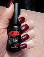 Гель-лак Gel Polish PNB 074, фото 1