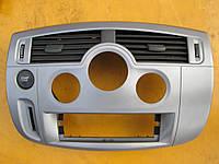 Б/у Накладка блока управления климат контролем Renault Scenic II 2003-2009