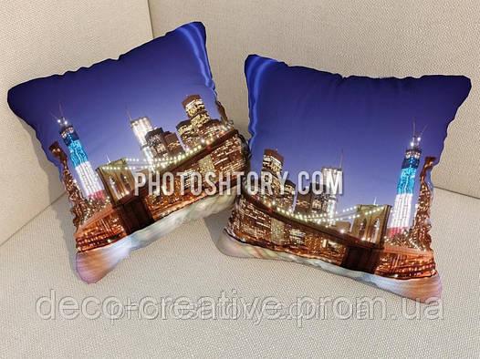 Фото подушки Манхэттенский мост