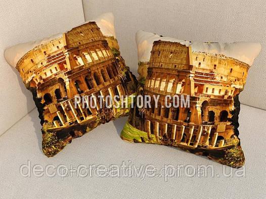 Подушки с фото Колизей