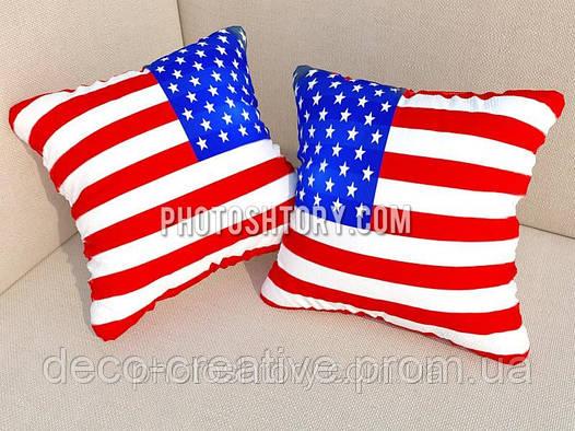 Фотоподушки флаг США