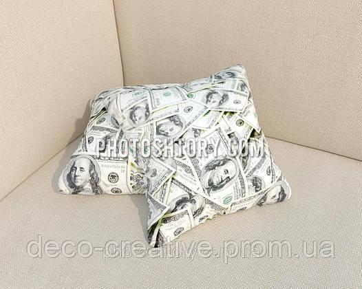 Фотоподушки доллары