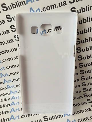 Чехол для 2D сублимации пластиковый на Samsung Galaxy A5 белый, фото 2