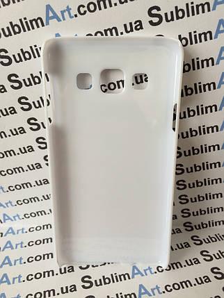Чехол для 2D сублимации пластиковый на Samsung Galaxy A3 белый, фото 2