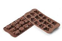 """Форма для шоколада """"Весна"""" 36*26 мм h 15 мм Silikomart"""
