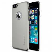 Чехол-накладка Spigen Case Thin Fit A Series Satin Silver for iPhone 6 4.7 (SGP10942)