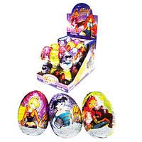 Шоколадное яйцо Винкс Клуб Winx Club 25 гр.