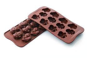 """Форма для шоколада """"Ангел"""" 35*30 мм h 16 мм Silikomart"""