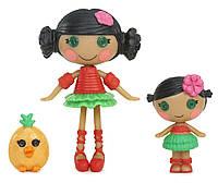Lalaloopsy Mini Littles Mango Tiki Wiki и  Kiwi Tiki Wiki
