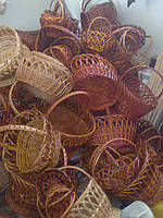 Корзины плетеные из лозы оптом от производителя по самым низким ценам в Украине