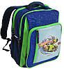 Рюкзак школьный Bagland Школьник 11270-2 синий Hot Wheels