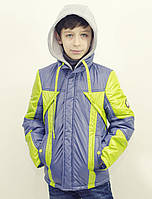 Куртка на мальчика весна Тайгер, 122-146 р-р