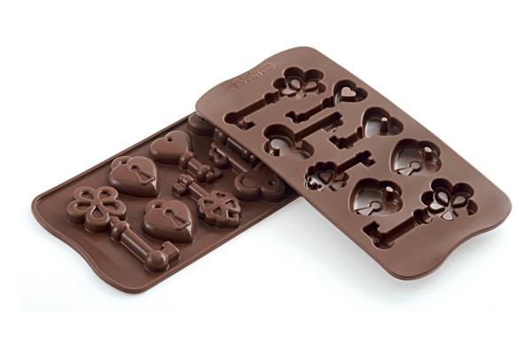"""Форма для шоколаду """"Ключики"""" 34*84 мм h 14 мм Silikomart"""