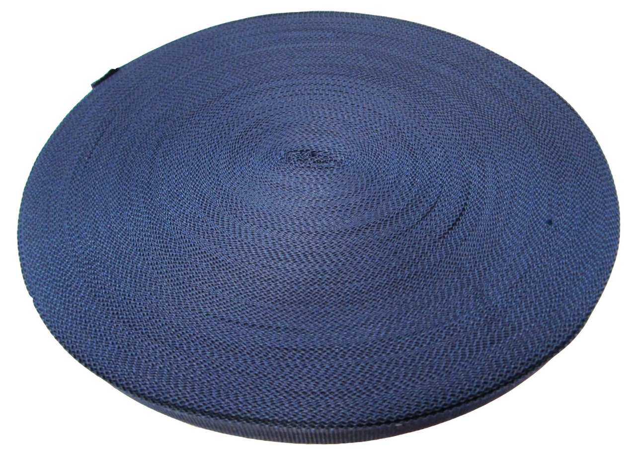 Тесьма 10мм/50м темно-синяя