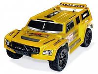 Автомобиль радиоуправляемый HSP Hummer Dakar H100 1:10 трофи - трак 4WD электро желтый RTR