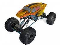 Автомобиль радиоуправляемый HSP Right Racing 1:10 краулер 4WD электро желтый/красный RTR